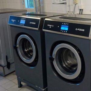 Maskinstyrning av PODAB tvättmaskiner via Aptus bokningssystem.